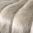 "Plutus Brands Fancy Mink Faux Fur Ivory Luxury Throw 60""W x 96""L (PBSF1420-6096-TC)"