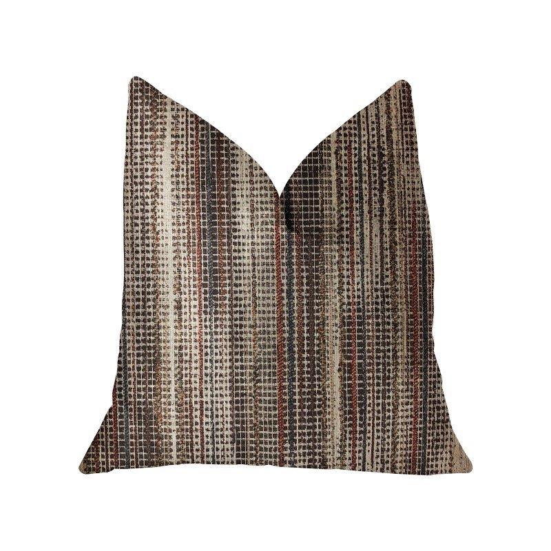 """Plutus Brands Felicity Multicolor Luxury Throw Pillow 20"""" x 30"""" Queen (PBRA2298-2030-DP)"""