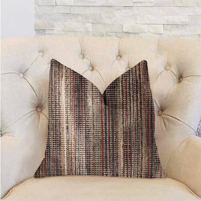 "Plutus Brands Felicity Multicolor Luxury Throw Pillow 22"" x 22"" (PBRA2298-2222-DP)"