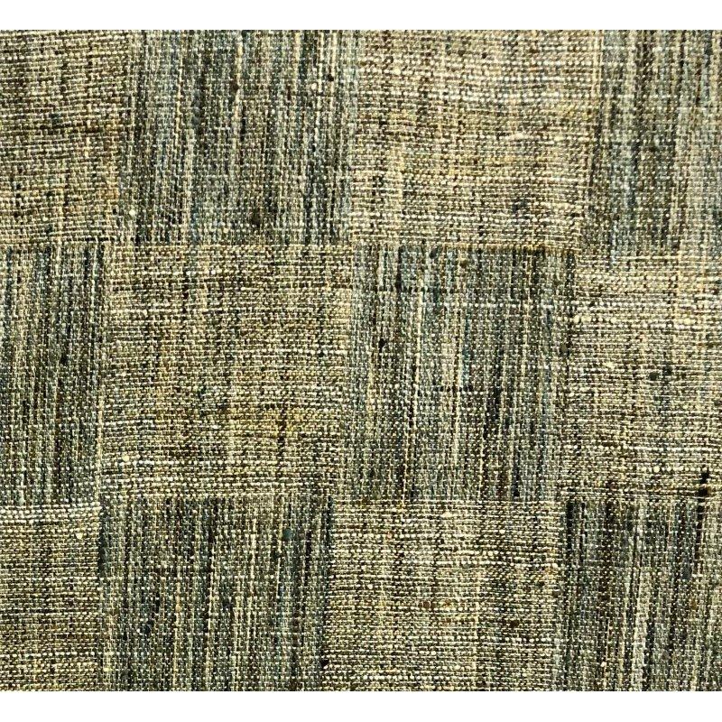 "Plutus Brands Foursquare Avenue in Green Tones Luxury Throw Pillow 22"" x 22"" (PBRA1365-2222-DP)"