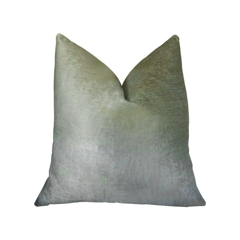 "Plutus Brands Foxy Arctic Fox White Ivory Handmade Luxury Pillow Double Sided 22"" x 22"" (PBRAZ464-2222-DP)"