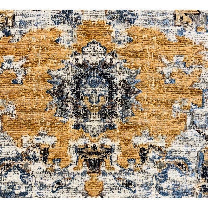 """Plutus Brands Free Spirit Damasque Luxury Throw Pillow 22"""" x 22"""" (PBRA1325-2222-DP)"""