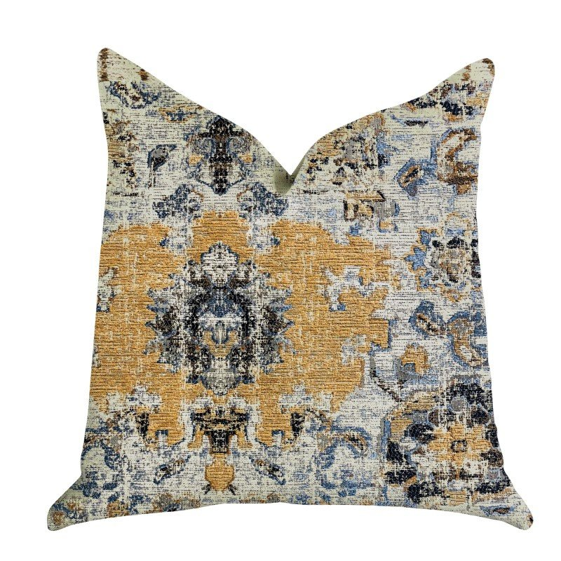 "Plutus Brands Free Spirit Damasque Luxury Throw Pillow 26"" x 26"" (PBRA1325-2626-DP)"