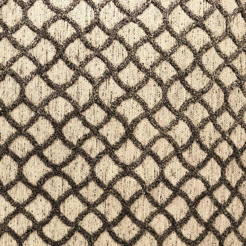 "Plutus Brands Galactic Ringlet Brown and Beige Luxury Throw Pillow 20"" x 26"" Standard (PBRA2215-2026-DP)"