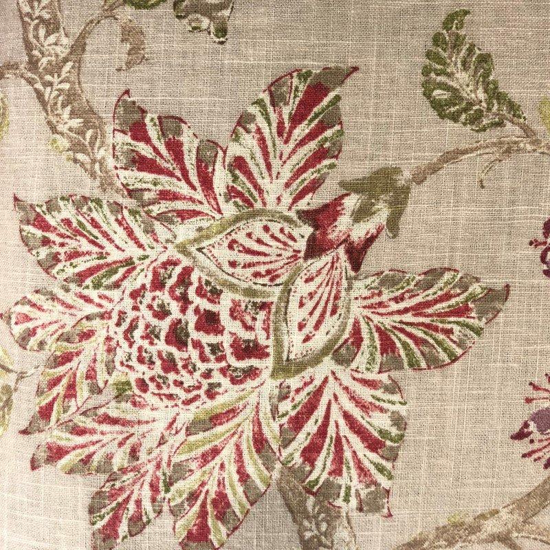 """Plutus Brands Garden Secrets Multicolor Luxury Throw Pillow 20"""" x 30"""" Queen (PBRA2276-2030-DP)"""