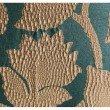 "Plutus Brands Golden Arabella Vine in Green and Gold Luxury Throw Pillow 24"" x 24"" (PBRA1354-2424-DP)"
