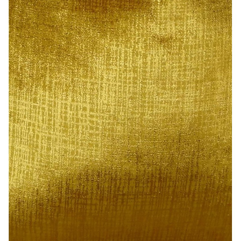 "Plutus Brands Golden Bijou Gold Handmade Luxury Pillow 20"" x 30"" Queen (PBRAZ249-2030-DP)"