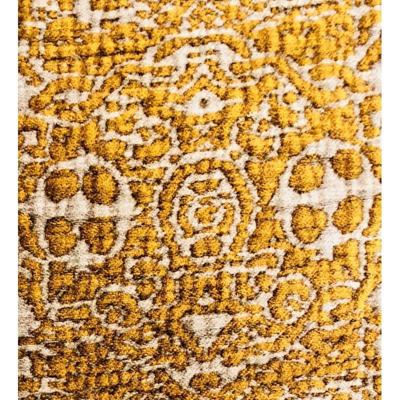 "Plutus Brands Golden Cosmo Textured Luxury Throw Pillow 20"" x 36"" King (PBRA1329-2036-DP)"