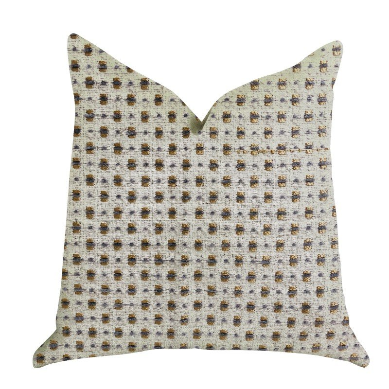 """Plutus Brands Haven Pointe Patterned Luxury Throw Pillow 20"""" x 36"""" King (PBRA1332-2036-DP)"""