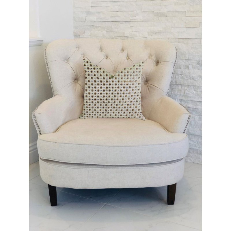 """Plutus Brands Haven Pointe Patterned Luxury Throw Pillow 26"""" x 26"""" (PBRA1332-2626-DP)"""