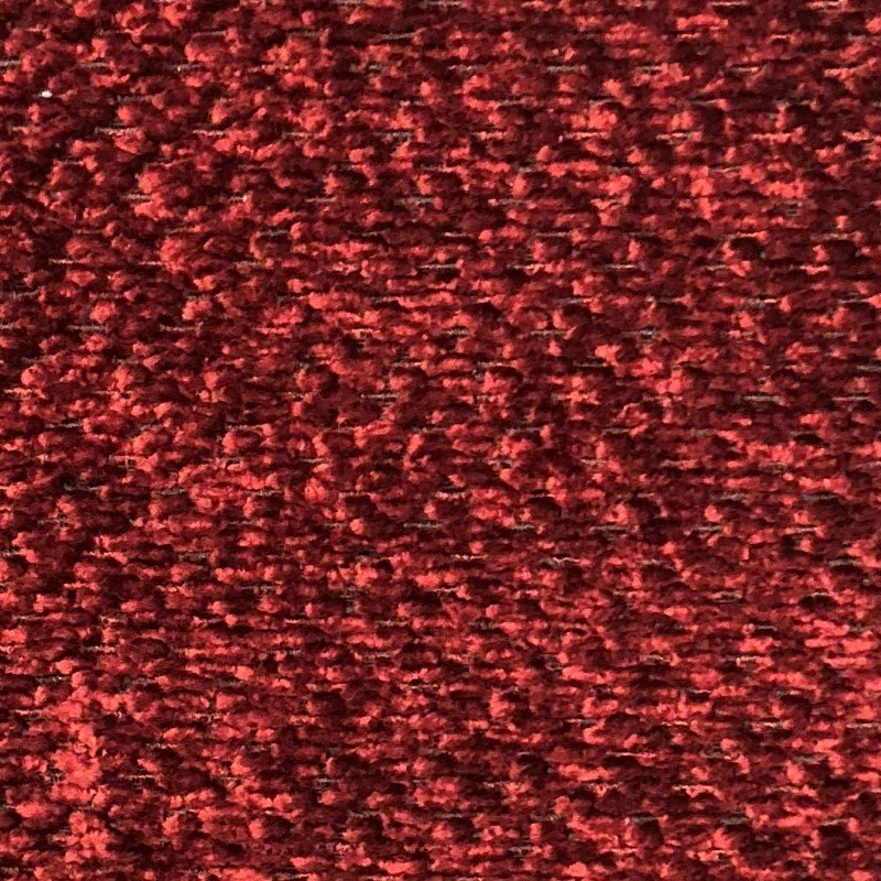 "Plutus Brands Hibiscus Burgundy Red Luxury Throw Pillow 16"" x 16"" (PBKR1969-1616-DP)"
