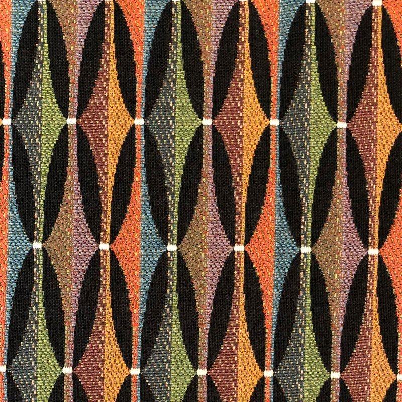 "Plutus Brands Jazzy Crystal Multicolor Luxury Throw Pillow 22"" x 22"" (PBRA2212-2222-DP)"