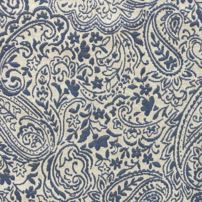 "Plutus Brands Kingston Waverly Blue and Ivory Luxury Throw Pillow 12"" x 20"" (PBKR1971-1220-DP)"