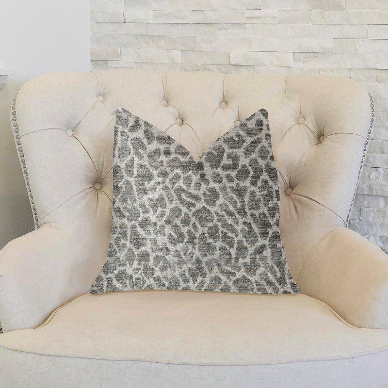 "Plutus Brands Lafayette Light Green and Beige Luxury Throw Pillow 20"" x 36"" King (PBKR1946-2036-DP)"