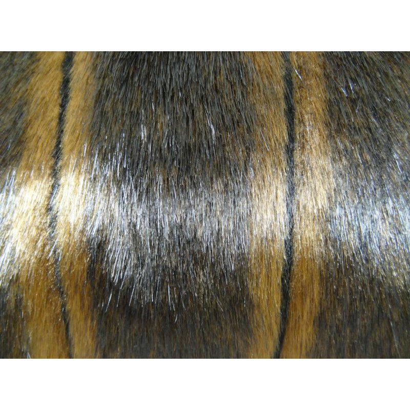 "Plutus Brands Lavish Brown Mink Light and Dark Brown Handmade Luxury Pillow Double Sided 12"" x 20"" (PBRAZ474-1220-DP)"