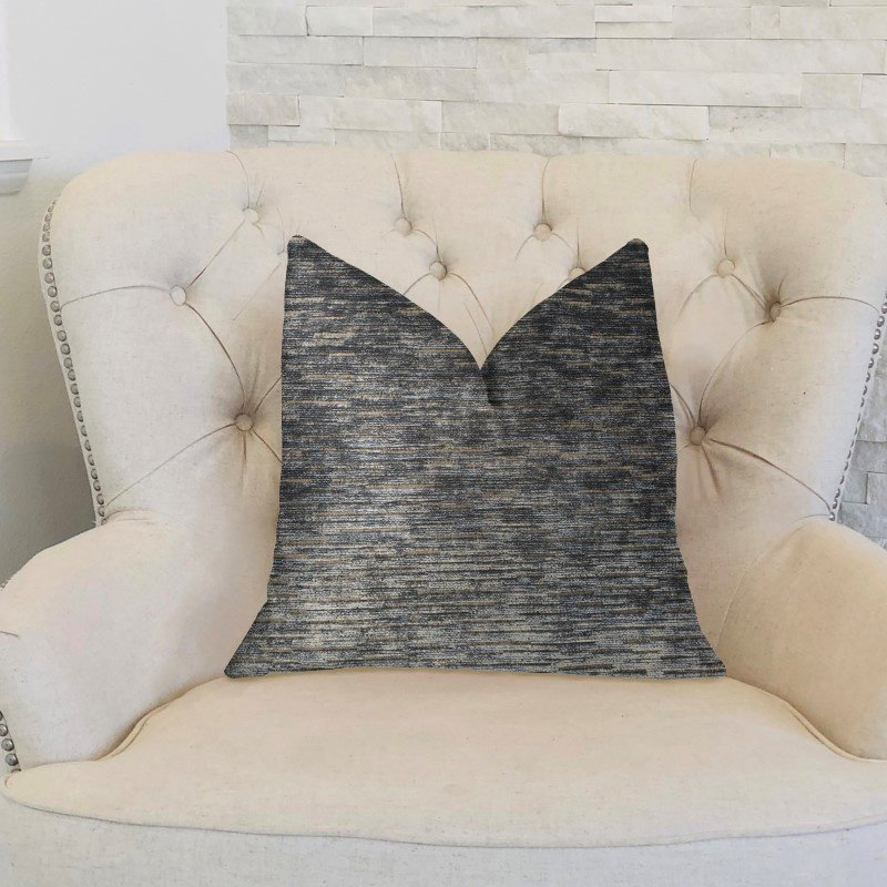 "Plutus Brands Lavish Touch Blue Luxury Throw Pillow 20"" x 26"" Standard (PBKR1999-2026-DP)"