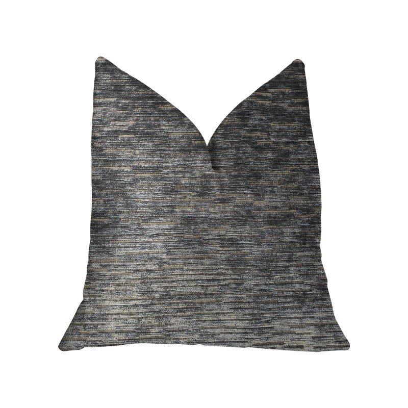 "Plutus Brands Lavish Touch Blue Luxury Throw Pillow 20"" x 30"" Queen (PBKR1999-2030-DP)"