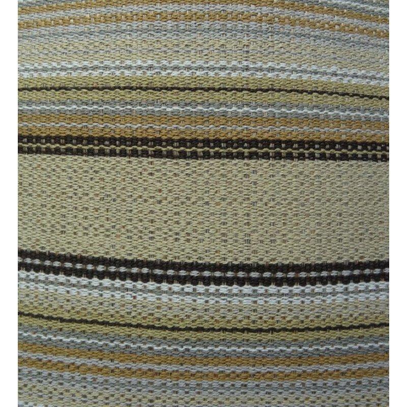 "Plutus Brands Lexington Park Taupe and Brown Handmade Luxury Pillow 16"" x 16"" (PBRAZ224-1616-DP)"