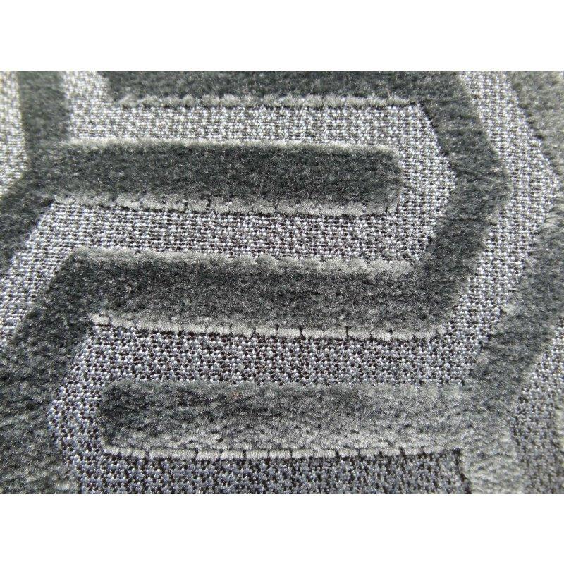 "Plutus Brands Lombard Street Gray Handmade Luxury Pillow 20"" x 26"" Standard (PBRAZ384-2026-DP)"
