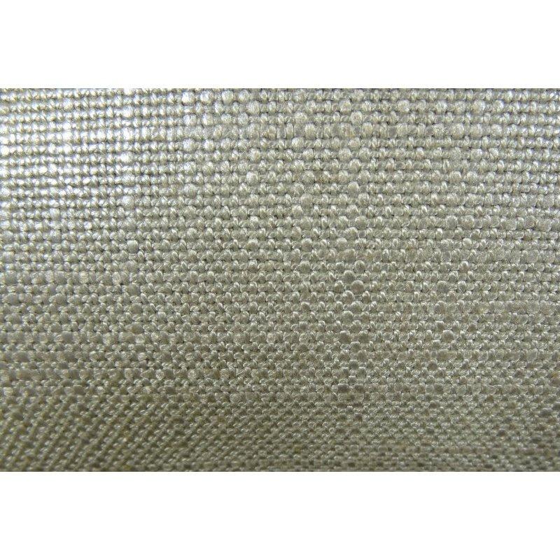"Plutus Brands Lustrous Linen Gunmetal Grey Handmade Luxury Pillow 20"" x 26"" Standard (PBRAZ394-2026-DP)"