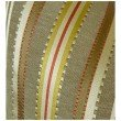 """Plutus Brands Macedonia Gold Red and Silver Handmade Luxury Pillow 20"""" x 30"""" Queen (PBRAZ280-2030-DP)"""