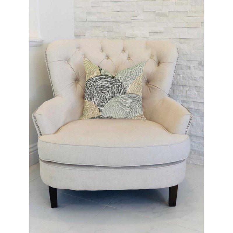"Plutus Brands Marquee Lagoon Multiple Color Luxury Throw Pillow 20"" x 30"" Queen (PBRA1352-2030-DP)"
