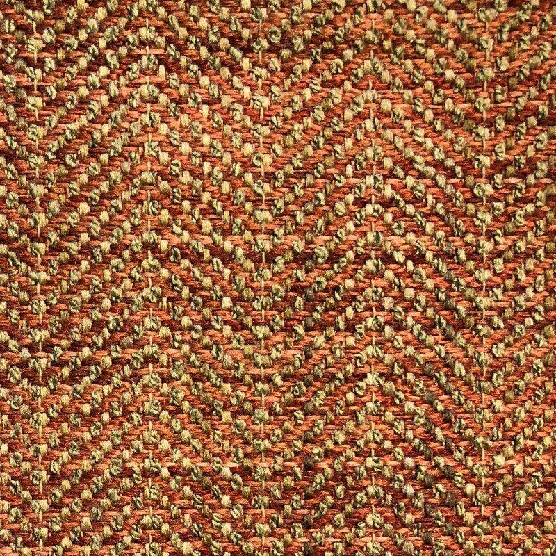 "Plutus Brands Merigold Orange and Gold Luxury Throw Pillow 18"" x 18"" (PBKR1985-1818-DP)"