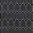 "Plutus Brands Milan Flare Black and Beige Luxury Throw Pillow 22"" x 22"" (PBKR1982-2222-DP)"
