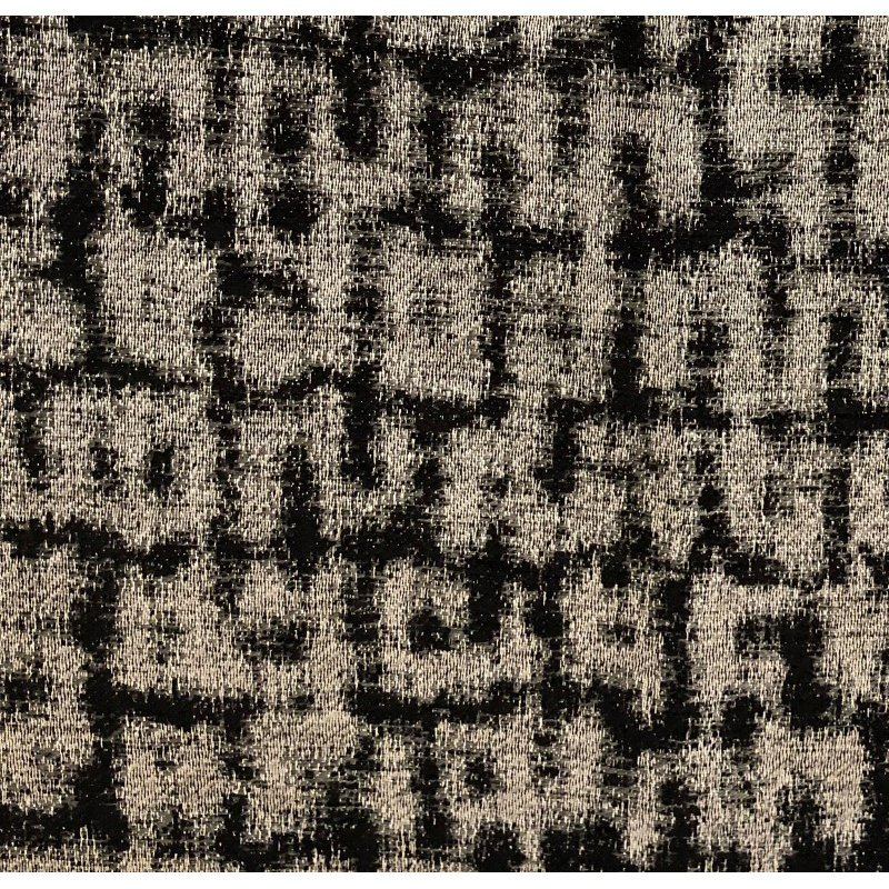 "Plutus Brands Modish Millie Luxury Throw Pillow in Black and Beige Tones Pillows 20"" x 30"" Queen (PBRA1375-2030-DP)"