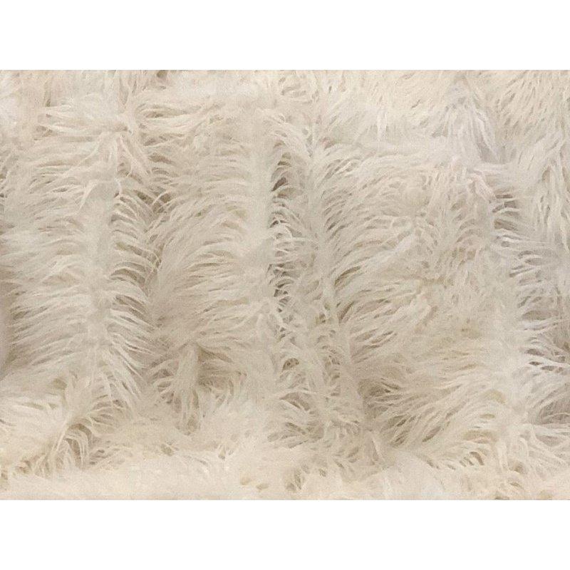 "Plutus Brands Mongolian Faux Fur Luxury Throw Blanket 80""L x 110""W Full (PBSF1421-80x110T)"