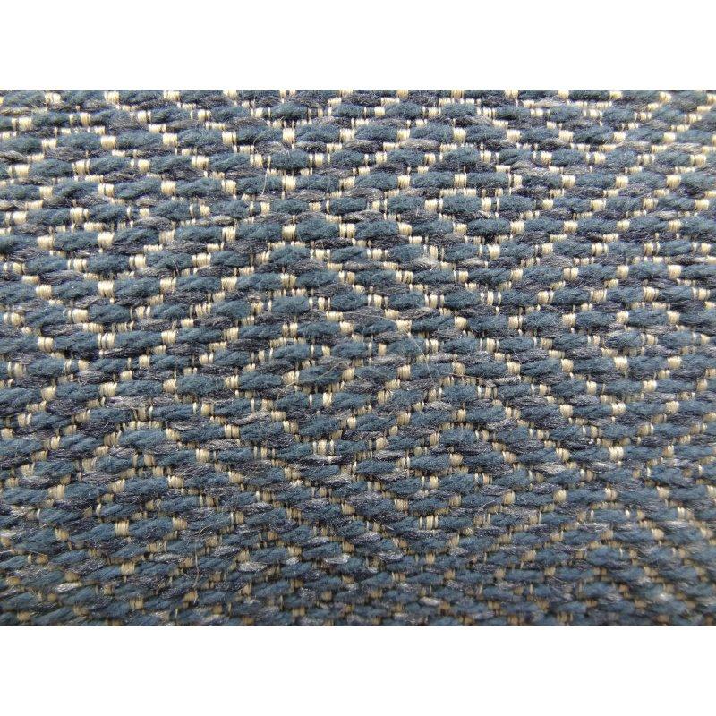 "Plutus Brands Montesano Blue Handmade Luxury Pillow 20"" x 36"" King (PBRAZ387-2036-DP)"