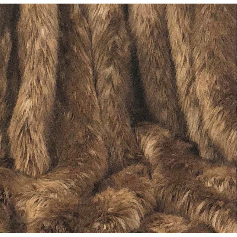 "Plutus Brands Mountain Coyote Handmade Luxury Throw 60""W x 90""L (PBSF1406-6090-TC)"