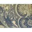 """Plutus Brands Myrtle Navy Blue and Taupe Handmade Luxury Pillow 12"""" x 20"""" (PBRAZ083-1220-DP)"""