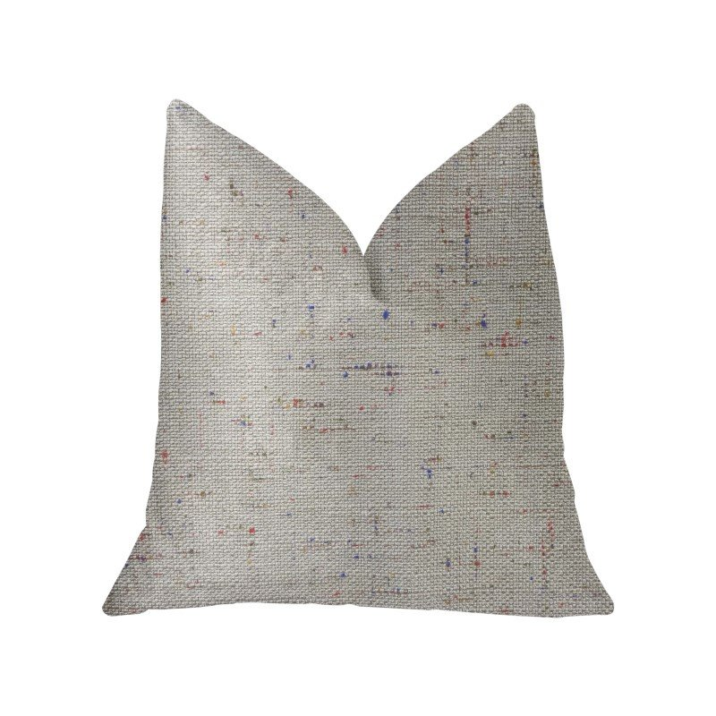 "Plutus Brands New Haven Multicolor Luxury Throw Pillow 22"" x 22"" (PBKR1961-2222-DP)"