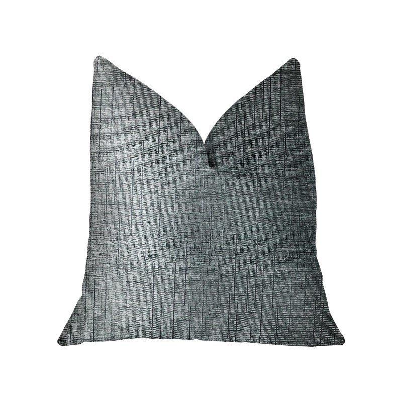 "Plutus Brands NewEra Bliss Blue Luxury Throw Pillow 12"" x 20"" (PBRA2306-1220-DP)"