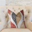 "Plutus Brands Oak Valley Multicolor Luxury Throw Pillow 20"" x 20"" (PBRA2282-2020-DP)"
