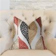 "Plutus Brands Oak Valley Multicolor Luxury Throw Pillow 22"" x 22"" (PBRA2282-2222-DP)"