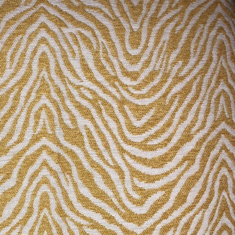 """Plutus Brands Oasis Waves Yellow and Beige Luxury Throw Pillow 22"""" x 22"""" (PBRA2318-2222-DP)"""