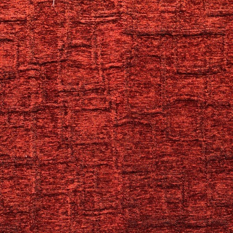 "Plutus Brands Paprika Jam Burgundy Red Luxury Throw Pillow 24"" x 24"" (PBKR1977-2424-DP)"
