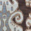 "Plutus Brands Paragon Brown Blue and Beige Luxury Throw Pillow 12"" x 20"" (PBKR1921-1220-DP)"