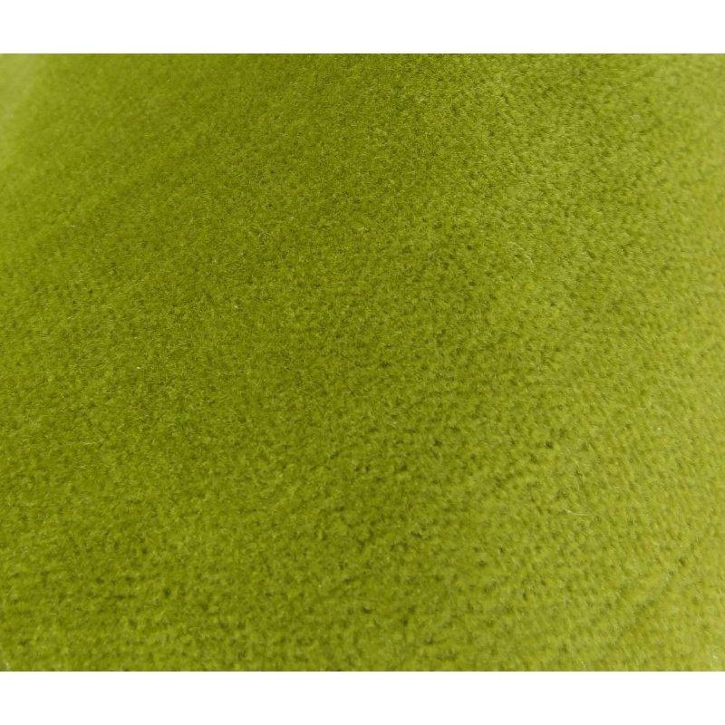 "Plutus Brands Pistachio Love Green Handmade Luxury Pillow 20"" x 30"" Queen (PBRAZ375-2030-DP)"