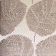 "Plutus Brands Pleasant Leaves Gray Luxury Throw Pillow 16"" x 16"" (PBRA2287-1616-DP)"
