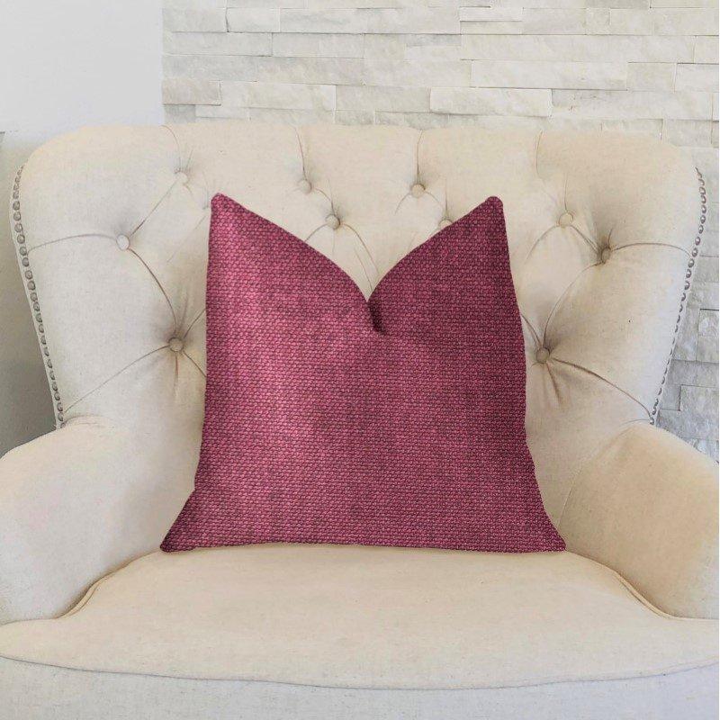 "Plutus Brands Plumptious Purple Luxury Throw Pillow 20"" x 20"" (PBKR1968-2020-DP)"