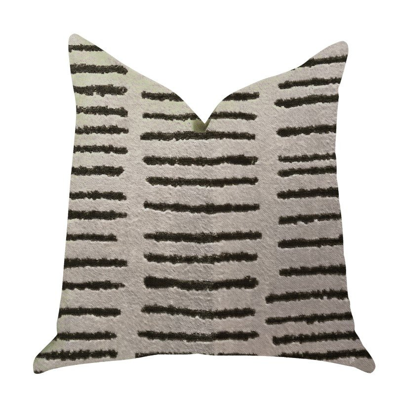 "Plutus Brands Poetry Lounge Luxury Throw Pillow in Pillows 20"" x 20"" (PBRA1396-2020-DP)"