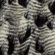 "Plutus Brands Porcupine Black and White Faux Fur Luxury Throw Blanket 114""L x 120""W King (PBEZ1784-114x120)"