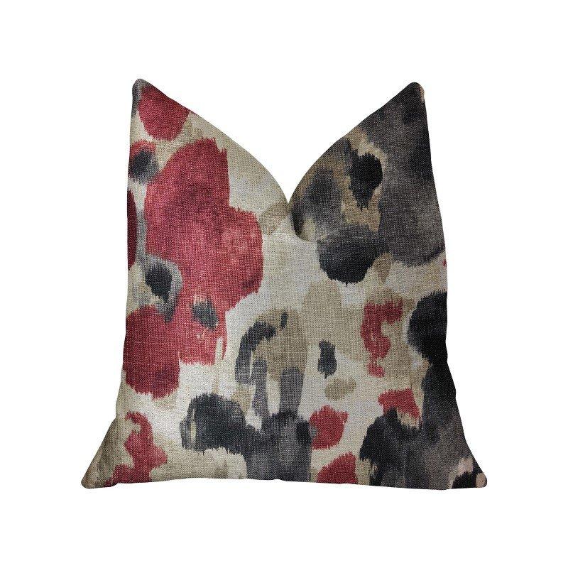 "Plutus Brands Pretty Passion Multicolor Luxury Throw Pillow 20"" x 20"" (PBRA2263-2020-DP)"