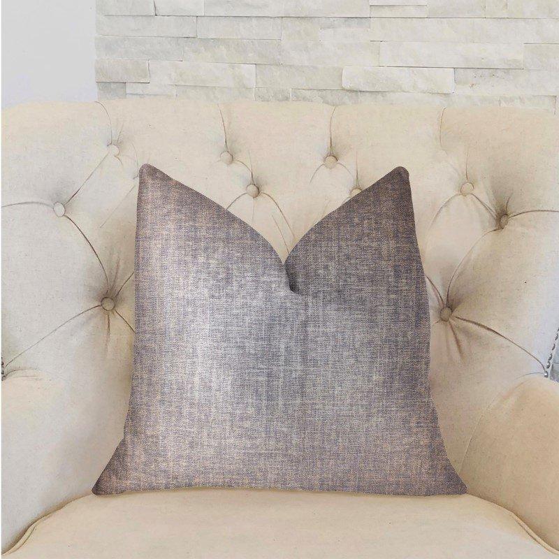 "Plutus Brands Radiance Blue Luxury Throw Pillow 20"" x 30"" Queen (PBRA2264-2030-DP)"