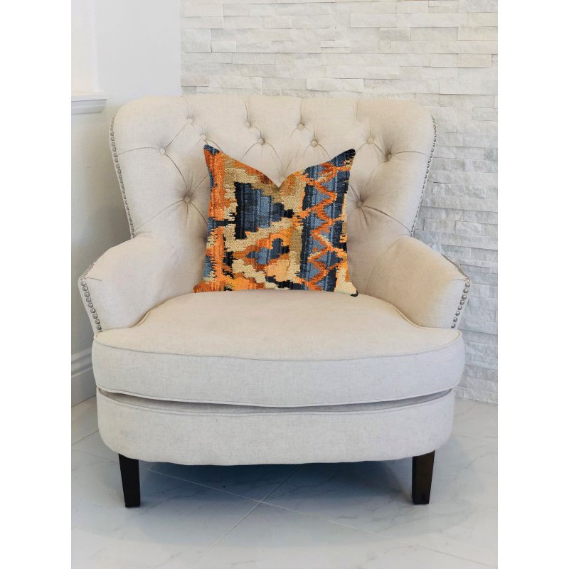 "Plutus Brands Sachi Love Luxury Throw Pillow In Multi Colors Pillows 20"" x 26"" Standard (PBRA1393-2026-DP)"