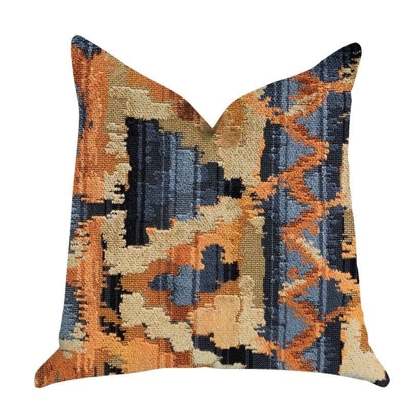 "Plutus Brands Sachi Love Luxury Throw Pillow In Multi Colors Pillows 20"" x 30"" Queen (PBRA1393-2030-DP)"