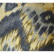 """Plutus Brands Sacred Pixie Blue Navy and Taupe Handmade Luxury Pillow 20"""" x 30"""" Queen (PBRAZ082-2030-DP)"""